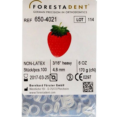 Forestadent-Non-latex-Elastics-Intra-oral