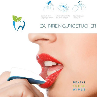 Dental-Fresh-Wipes-Zahnreinigungstuecher