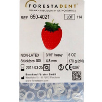 Forestadent Non-latex Elastics Intra-oral